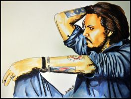 Johnny Depp by fallinginsane