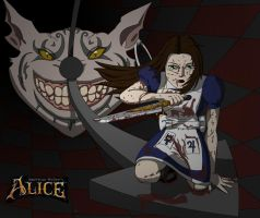 AM's Alice 1 bloody by TGWabba