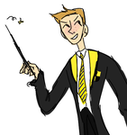 did somebody say hufflepuff dean by icepop-fox