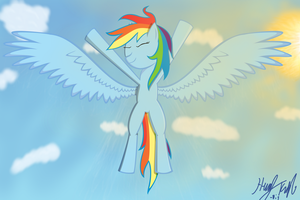 Dashie Vector by Desaster-Master