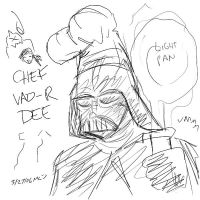 Chef Vader by soggymuffinhead