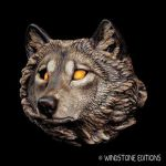 Wolf sconce by Reptangle