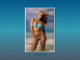 Jessica Alba 'Into the Blue' by NoLiMiT3d