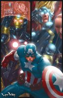 Avengers NYCC by LordWilhelm