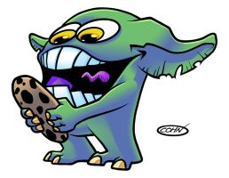 Ghrelin Gremlin by ScottCohn