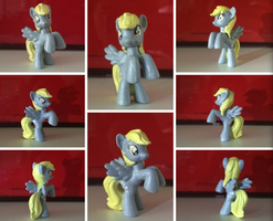 Derpy Hooves custom blind bag pony by BeeTrue
