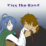 Comision: Kiss the hand by BrassYumiru