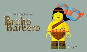 Bruho Barbero Lego by Dinuguan