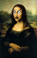 The Mona Lisa by gbcake