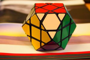 Rubik-style Cuboctahedron by Brianetta