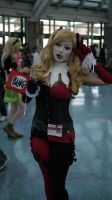 Harley Quinn Bang!! by slasherman