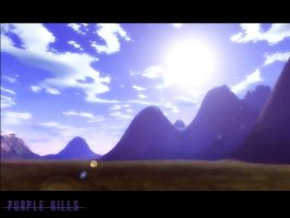 Purple Hills by Arkanjel8