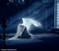 Solitary angel by JiaJenn31