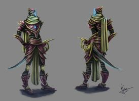 Combattant concept : General by AnnickHuber