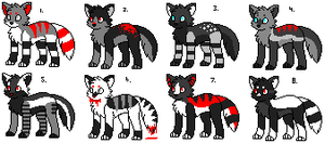 ::Adoptables 9:: UPDATED by Frake-Love