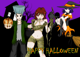 EvarEarth Halloween 2010 by Cryptic-Enigma