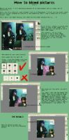 How to blend pictures together by twilight19xx