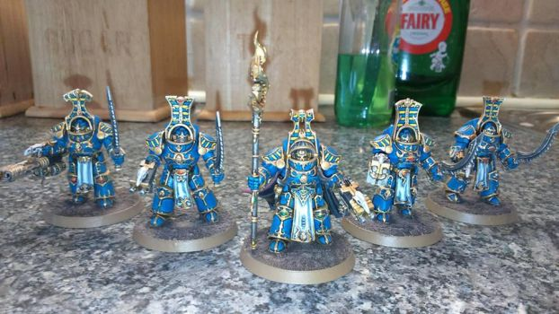 Project Thousand Sons: Scarab Occult Terminators by Saekhor
