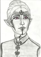 Inquisitor Lavellan by Iceyh3