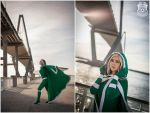 Rogue at the Ravenel Bridge | Amanda Finley by jmnettlesjr