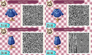 Animal Crossing New Leaf - Jack Frost's hoodie by JackFrostOverland