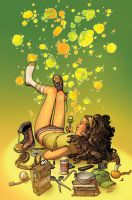 Popgun Bubbles Goldenrod by MBirkhofer
