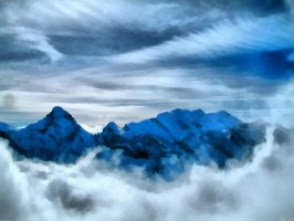Winter Snow Mountains 7 by WictimCZ