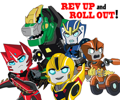 Transformers: Robots in Disguise [Chibis!] by Chille-out