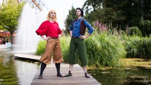 Miguel and Tulio - the Road to El Dorado by A-Nelson-Sindfoul
