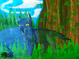 Graystripe: Waves of Change, Dying leaves by Rainstarlightsky