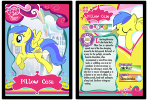 Pillow Case My Little Pony Trading Card by Shira-Yuri
