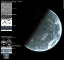 Planet texture maps 01 by Hameed