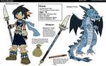 The Dragon of Blue Fire! by Firewarrior117