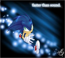 Sonic: faster than sound. by Stumppa