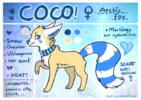 Coco Reference Sheet by Fayven