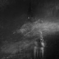 Basilica in Blizzard by sissorelle