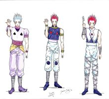 Hisoka Costumes Page 1 by DJesterS