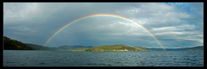 Full Rainbow Coeurdalene Lk. by narmansk8