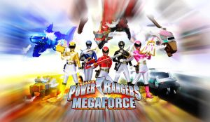 Power Rangers Megaforce 1st wallpaper by scottasl