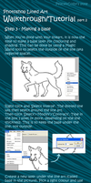 Photoshop Lined Tutorial/Walkthrough Part2 by Peace-Colby
