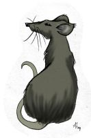 Rat says wut? by InkCell-Illustration