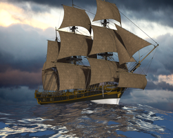HMS Bounty by rummsfeld