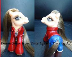 My little pony custom Emma Swan by AmbarJulieta