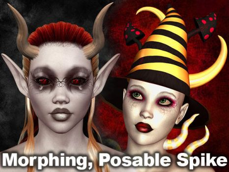 Morphing Posable Spike 4 Poser by parrotdolphin