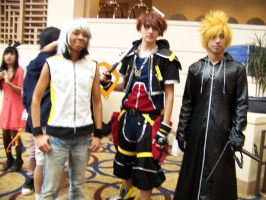 Kingdom Hearts/Different games by TarenPyronite