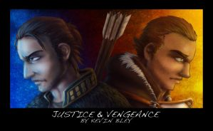 Justice and Vengeance by mrbob0822
