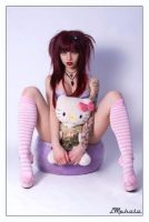Hello kitty II by Modelfaye