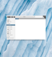 Linux File Browser Concept by rodrigoDSCT