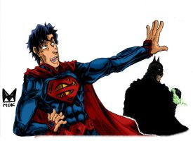 Superman and Batman - Don't Worry I am here...Clr by mdkex