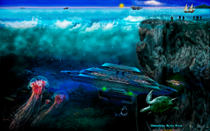 UNDERSEA ALIEN BASE by CSuk-1T